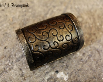 Steampunk bracer/wristband/bracelet. Armor like, fake metal. Post apocalyptic steampunk fantasy costume.