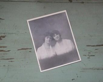 Vintage Edwardian Portrait 8 x 10