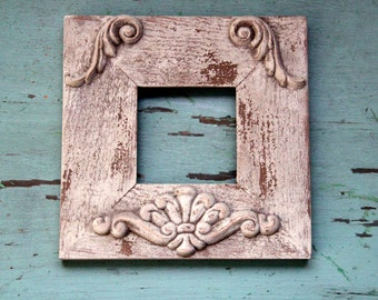 Shabby Chic Weathered Wood Frame