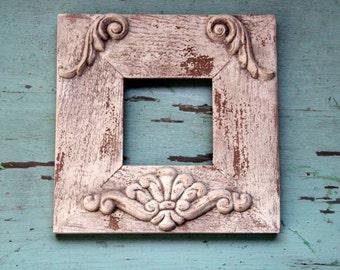 Shabby Chic Weathered Wood Frame