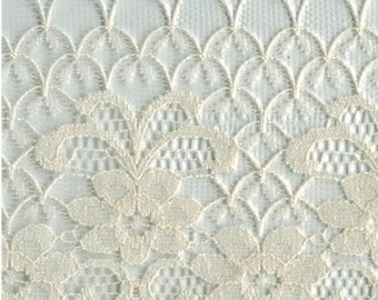 """4"""" Cream Lace Trim 25 Yards Sewing & Bridal or Formal Craft Supplies w/ Free Shipping"""