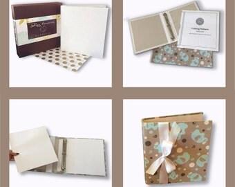 DIY Binder Kit, Photo Binder Kit, Wedding Album Kit, Baby Album Binder Kit, School Memories Binder Kit,  Pet Binder Album, FamilyTree Binder