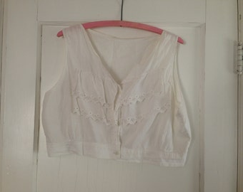Antique Edwardian camisole