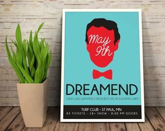 Bill Nye - Band Poster - Gig Poster - Printable - Editable