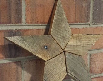 Reclaimed Wood Pallet Wood Star