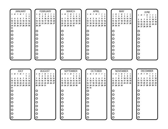 Bullet journal printable future planning by for Future planner online