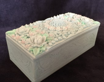 Handcast Trinket Box