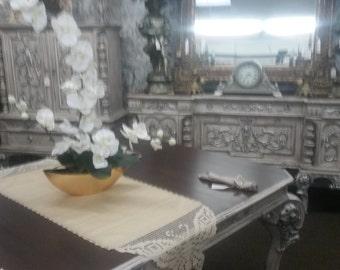 Antique Dining Set Year 1909
