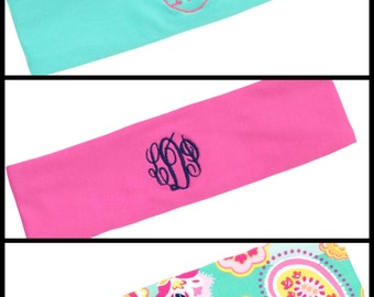 NEW***Active Wear headbands w/embroidery option