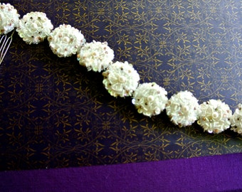 Beautiful hair accessory  for bride