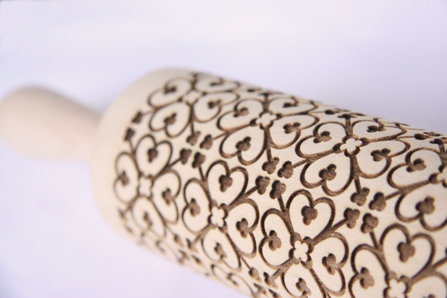 Rolling pin ornament - Engraved Rolling Pin Ornament