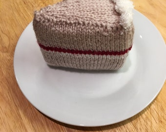 Knitted Sponge Cake