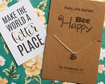 Pretty Little Necklace - Bee Happy