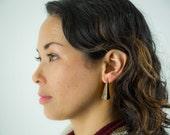 Silver Earrings, Geometric Earrings, Earrings for Her, Girls Earrings, Silver Jewelry, Handmade Earrings