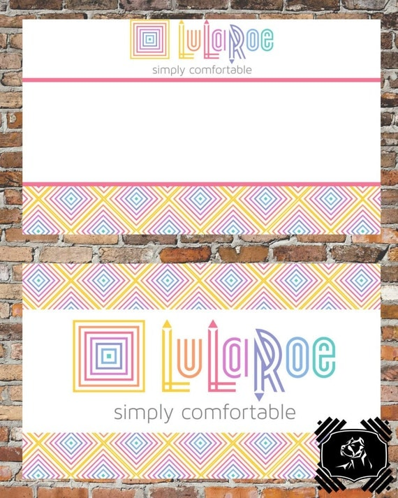 Lularoe business card customizable business by for Lularoe business card template