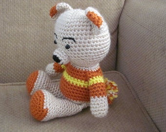Handmade, Crocheted Teddy Bear