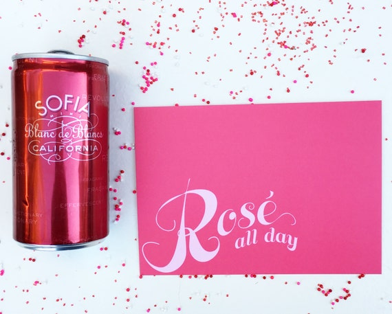 Rose All Day Postcard