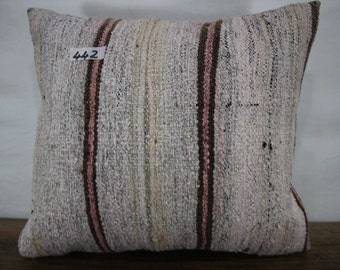 "Vintage Turkish Kilim Pillow Cover 16""x18"" Decorative Kilim Pillow Turkish Kilim Cushion Cover Vintage Turkey Kelim Kissen SP4040-442"