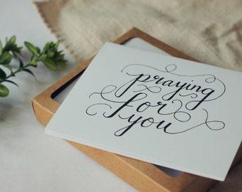 Praying for You Card Set