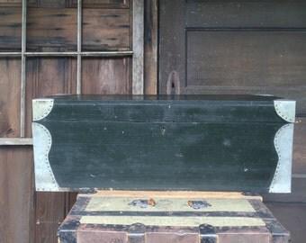 Antique Wood Tool Chest