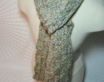 Mountain Sky Scarf W/NO Fringe - Matching Hat Sold Separately