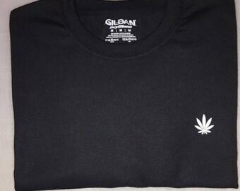Weed White Logo Shirt