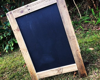 Large Pallet A-Frame Chalkboard - Shipping NOT Included