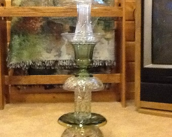Angel glass totem