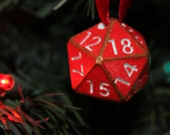 D20 Ornament (3D Printed)