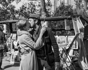 PRINT: Lovers & booksellers - 28x42cm - circulation paper Pro