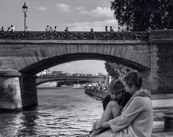 PRINT: Lovers on the Seine - 40x60cm - Print Pro