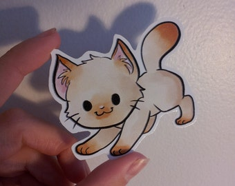 Himalayan Cat Sticker