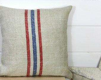 European Grain Sack Pillow Covers