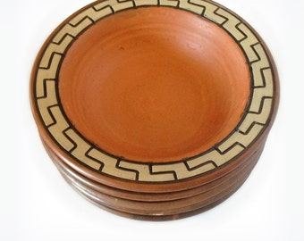 African Pottery - African Bowls - African Ceramics - African Clay Bowls - African Decor - Tribal Decor - Tribal Pottery