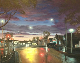 Sunbury Sunset