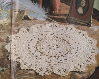 """Digital Crochet Pattern - """"Victoriana"""" Doily (PDF ONLY)"""
