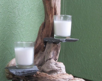 Driftwood Plant/Candle Holder