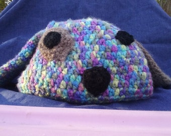 puppy dog themed toddler hat