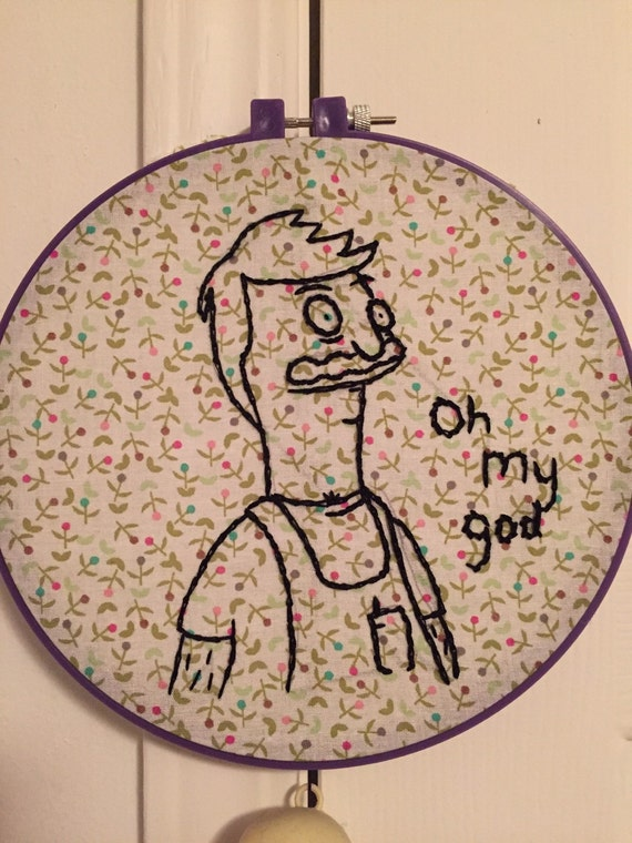 Bob's Burgers embroidery