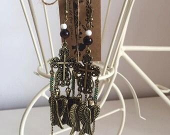 """Handmade Earrings """"My Angel"""""""