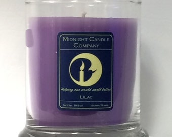 Lilac Scented Candle, 75 Hour Burn Time