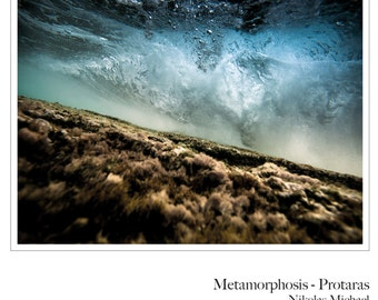 Metamorphosis - Protaras ( underwater photography, fine art, limited edition, Cyprus, Mediterranean, color, art print, wall decor )