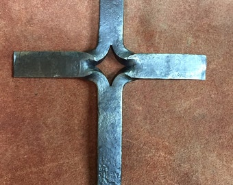 Iron decorative cross