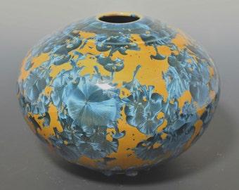 Crystalline Orb Vase