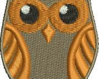 Whimsical Owl 2 Machine Embroidery Design