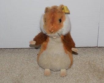Rare--Vintage Steiff Plush Hamster