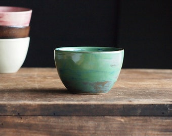 Teacup in sea-green