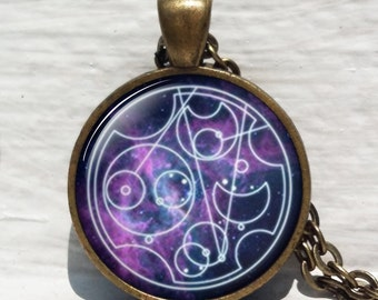 Dr Who Gallifreyan Symbol,Doctor Who Inspired,Doctor ,Gallifreyan Necklace ,gallifreyan pendant, Dr who tardis, Doctor who jewelry
