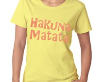 "Glitter - SHOW YOUR DISNEY - T Shirt - ""Hakuna Matata"""