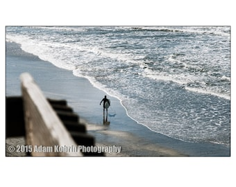 """Surf Photography: """"Stairs @ Swamis"""", Print on archival paper"""